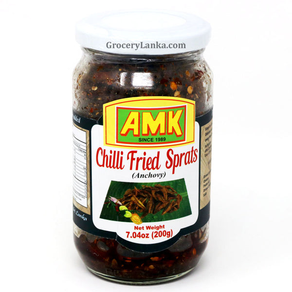 AMK Chili Fried Sprats 200g