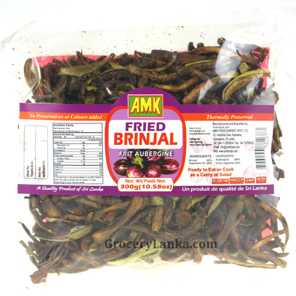 Fried Brinjal ( Batu Bedala)