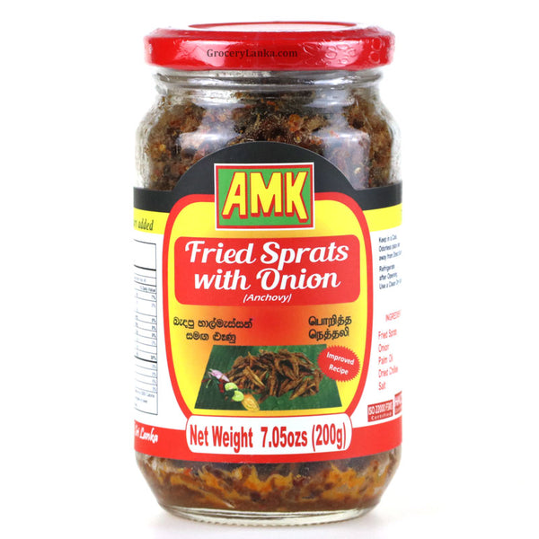AMK Fried Sprats with Onion 200g