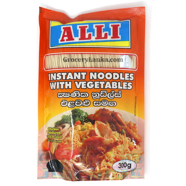 Alli Instant Noodles with Vegetables (Chicken Flavored) 300g
