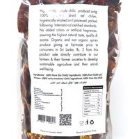 Asoka Dried Red Chillies (Stemless) 200g Information