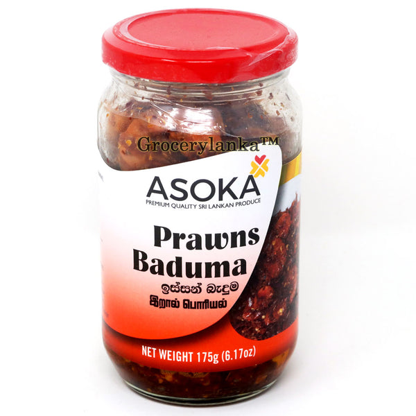 Asoka Prawns Baduma 175g - Fried Prawns with Spices