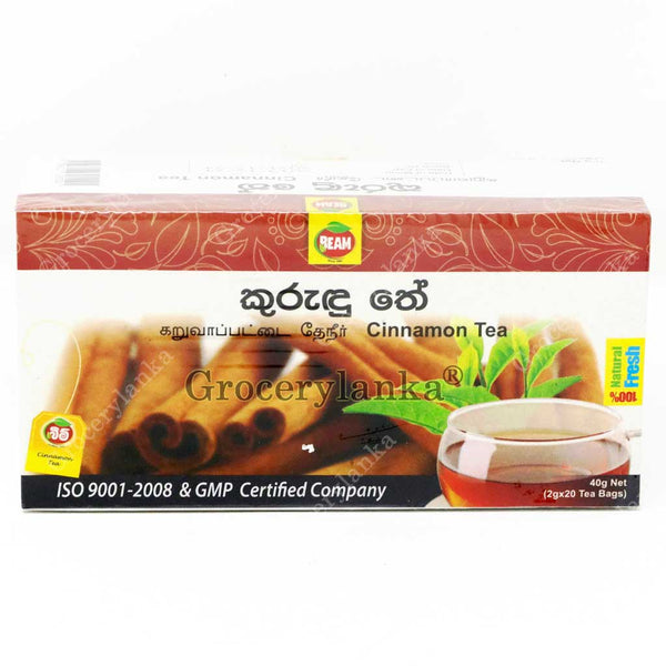 Beam Cinnamon Tea - 20 Tea Bags