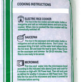 CIC Hand Pound Parboiled Rice Instructions