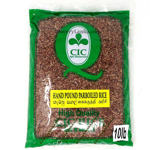CIC Hand Pound Parboiled Rice 10LB