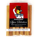 Grocerylanka Ceylon Cinnamon Sticks 100g