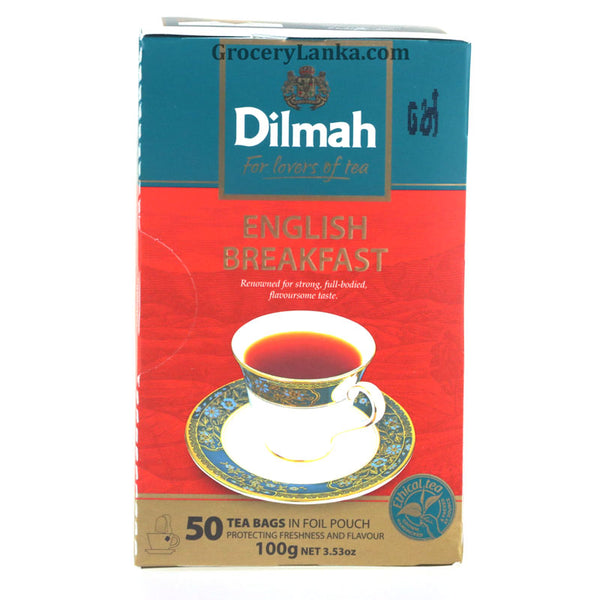 Dilmah English Breakfast 50 Tea Bags 100g