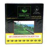 Exotic Black Tea 100 Bags | Pure Ceylon Tea | Thoolawie Plantation
