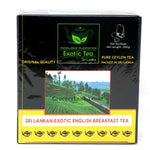 Exotic English Breakfast Tea 100 Bags
