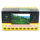 Exotic English Breakfast Tea 50 Bags