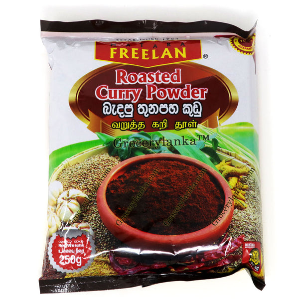 Freelan Roasted Curry Powder 250g