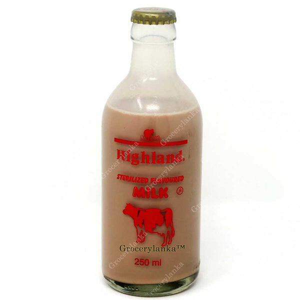 Sri Lankan Milco Highland Chocolate Milk 250ml - Grocerylanka.com