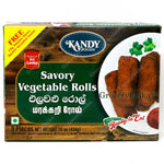 Kandy Foods Savory Vegetable Rolls