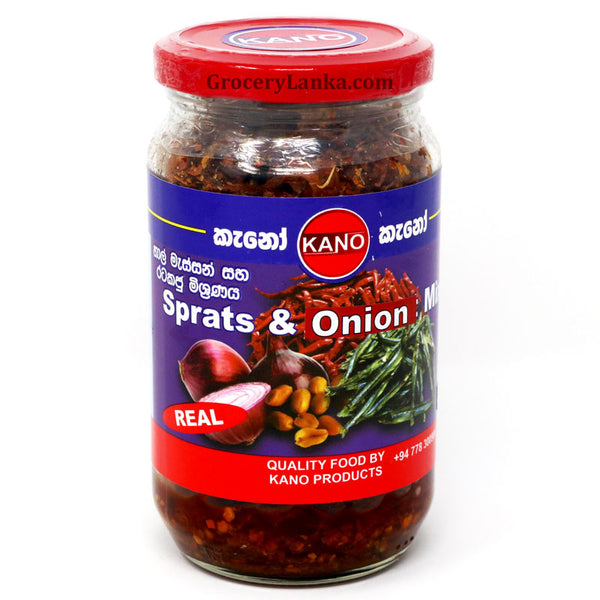 Kano Sprats & Onion Mix 200g