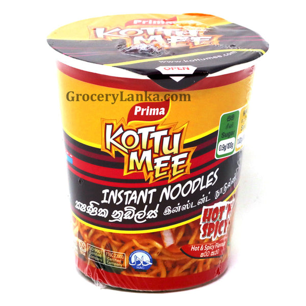 Kottu Mee Cup Noodles - Hot & Spicy