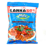 Lankasoy Malusoy devilled prawn flavored soy nuggets