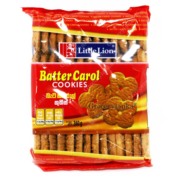 Little Lion Batter Carol Cookies 360g (Large Pack)