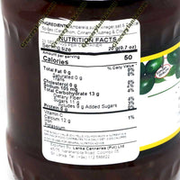 MD Amberella Chutney 900g Nutrition Facts
