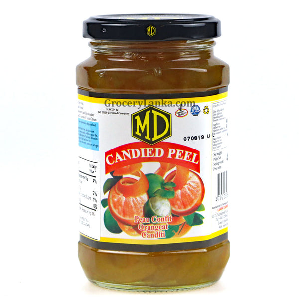 MD Candied Peel 300g (Small Bottle)