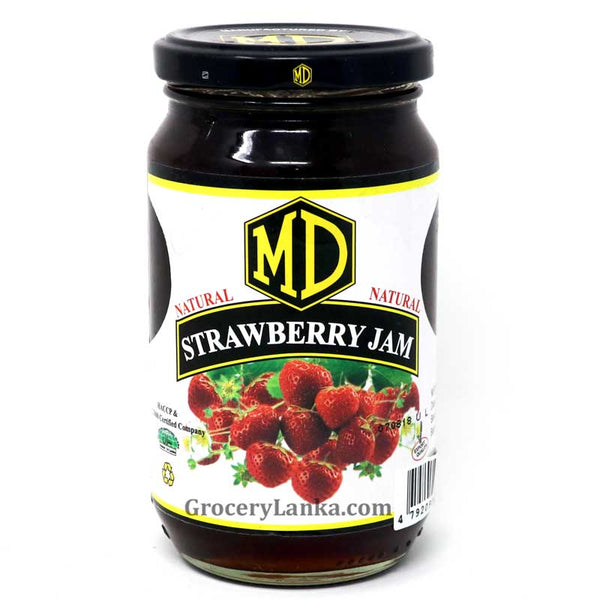 MD Real Strawberry Jam 450g