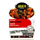 Ma's Kitchen Hot Curry Paste 60g