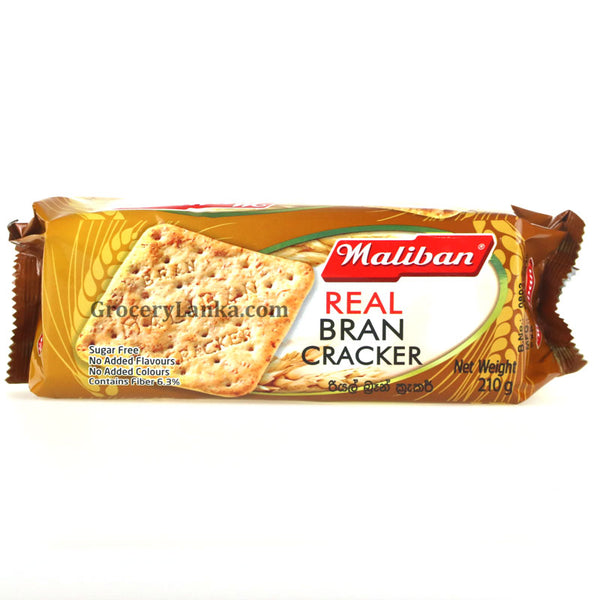 Maliban Real Bran Cracker