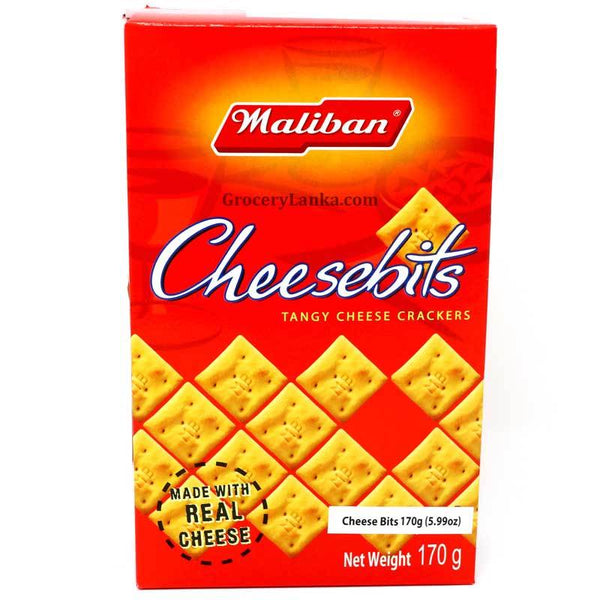 Maliban Cheesebits 170g Box