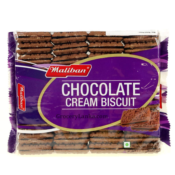 Maliban Chocolate Cream Biscuits