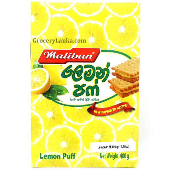 Maliban Lemon Puff (Large Pack) 400g