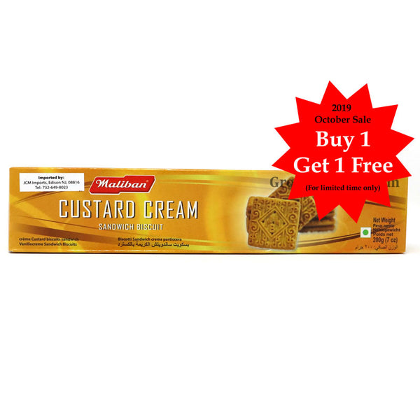 Maliban Custard Cream 200g - Buy 1 Get 1 Free