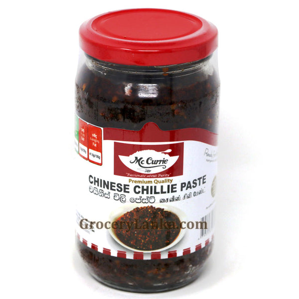 Mc Currie Chinese Chillie Paste 360g