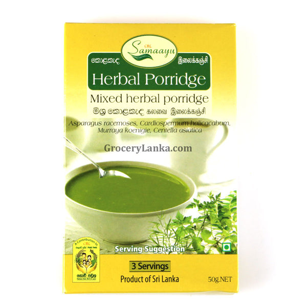 Mixed Herbal Porridge