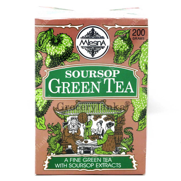 Mlesna Soursop Green Tea 200g
