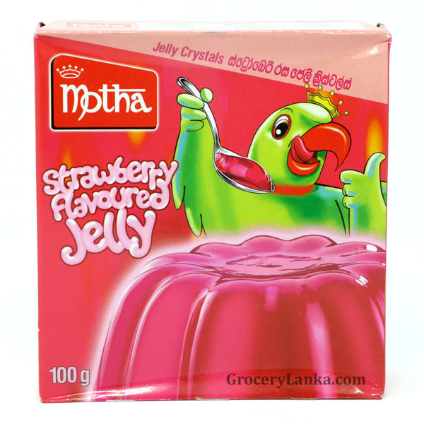 Motha Strawberry Flavored Jelly 100g