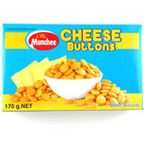 Munchee Cheese Buttons 170g Box