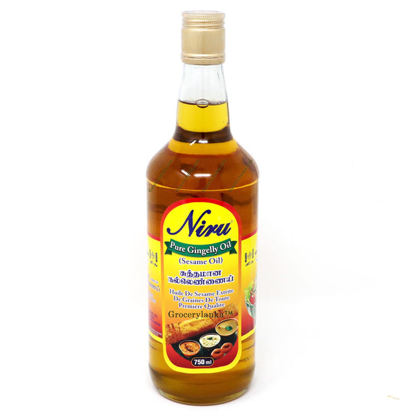 Niru Pure Gingelly Oil (Sesame Oil) 750ml