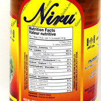 Niru Pure Gingelly Oil (Sesame Oil) 750ml Nutrition Facts