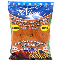 Niru Jaffna Medium Hot Curry Powder (Roasted) 800g - Grocerylanka.com