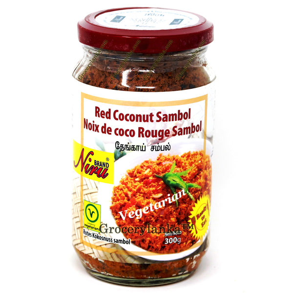 Niru Red Coconut Sambol 300g