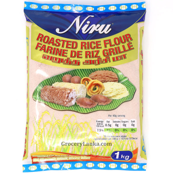 Niru Roasted Red Rice Flour 1kg