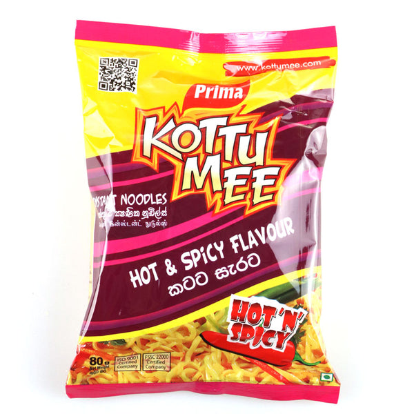 Prima Kottu Mee Hot & Spicy Flavour 78g