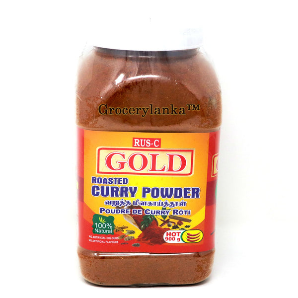 Rus-C Gold Roasted Curry Powder 900g - Hot