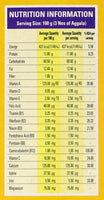Samaposha Ready Mix Nutrition Values