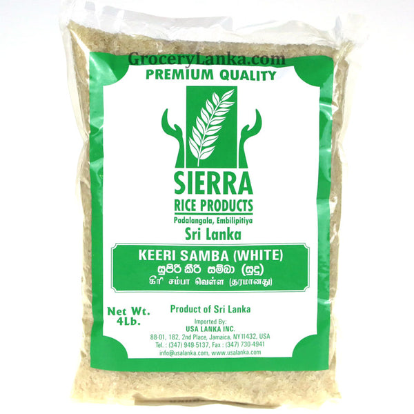 Sierra Keeri Samba (White) 4LB (Small Pack)