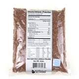 Sierra Red Raw Rice ( Single Polish) 4LB