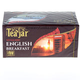 Teajar English Breakfast Tea (25 Enveloped Tea Bags)