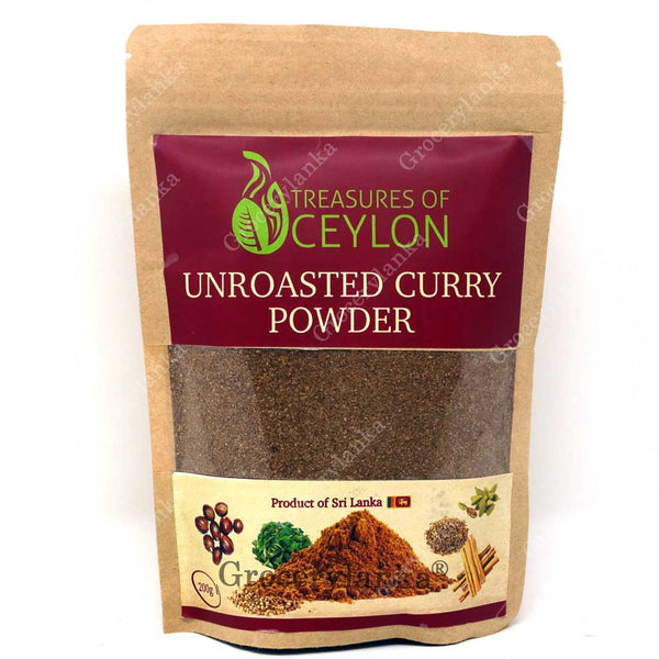 Treasures of Ceylon Unroasted Curry Powder 200g
