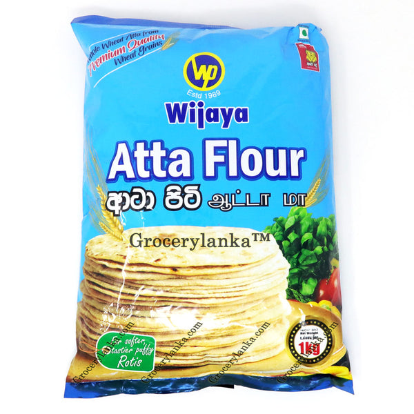 Wijaya Atta Flour 1kg - Whole Wheat Flour