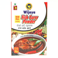 Wijaya Fish Curry Powder - (Red Curry) 70g