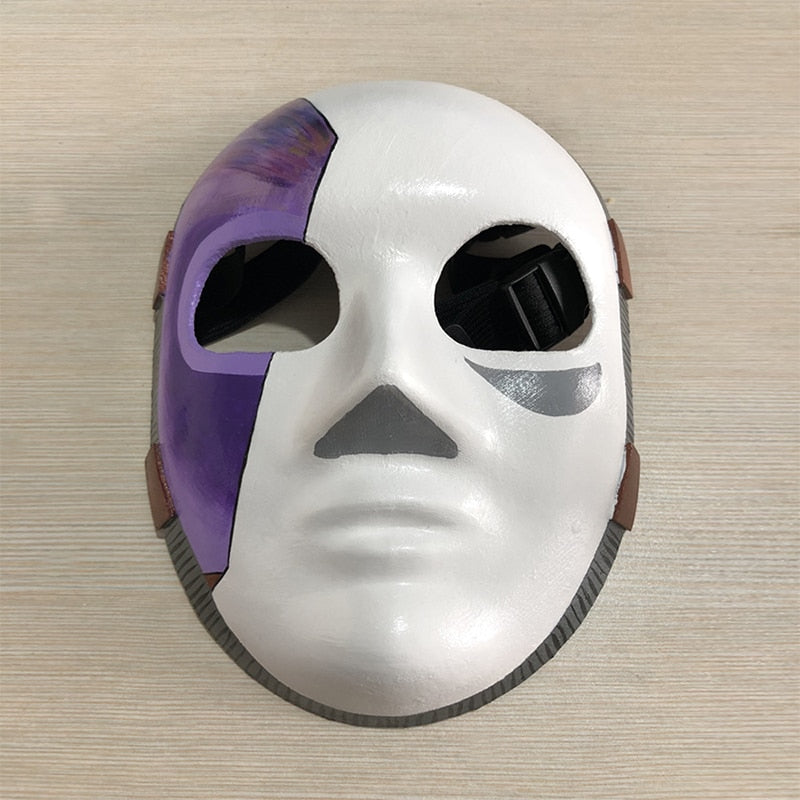 Game Sally Matte Latex Mask Carnival Mask Costume Props Accessories Sally Face